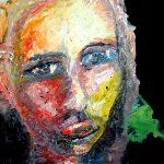 Ölgemälde Portrait einer Frau