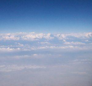 Blick über die Wolkendecke